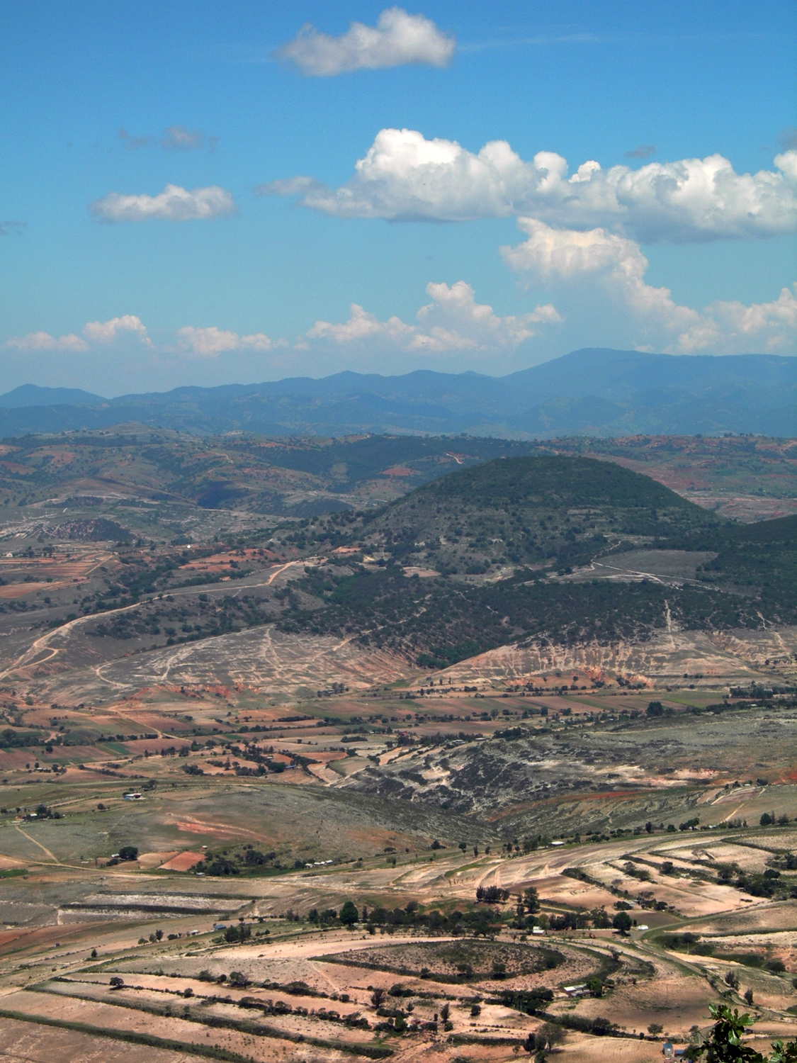 FIGURE 1. The Nochixtlan Valley in the Mixteca Alta. June 2007. Photo by Byron Hamann.